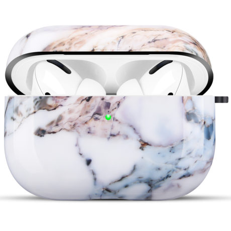 Coque de Protection AirPods Pro - Marbre blanc