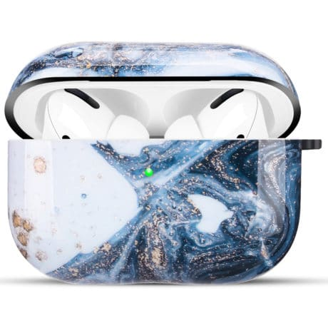 Coque de Protection AirPods Pro - Marbre Galaxie